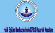 Halk Eğitim Merkezlerinde KPSS Hazırlık Kursları