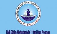 Halk Eğitim Merkezlerinde 11 Yeni Kurs Programı